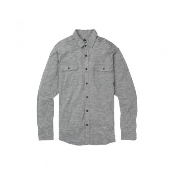 Burton Midweight Merino Button Up